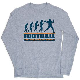 Football Tshirt Long Sleeve - Football Evolution