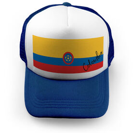 Soccer Trucker Hat - Colombia