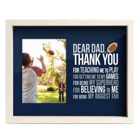 Football Premier Frame - Dear Dad