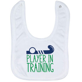 Field Hockey Baby Bib - Player In Training