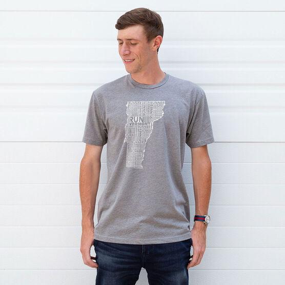 Running Short Sleeve T-Shirt - Vermont State Runner