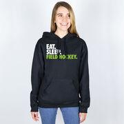 Field Hockey Hooded Sweatshirt - Eat. Sleep. Field Hockey.