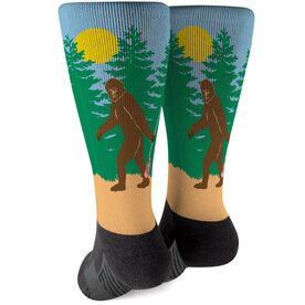 Guys Lacrosse Printed Mid-Calf Socks - Bigfoot