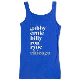 Baseball Women's Athletic Tank Top - FANtastic Chicago