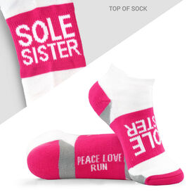 Socrates® Woven Performance Socks Sole Sister (Fuchsia)