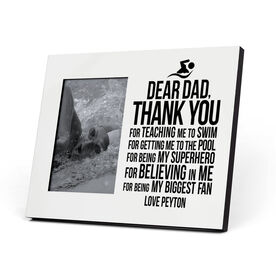 Swimming Photo Frame - Dear Dad