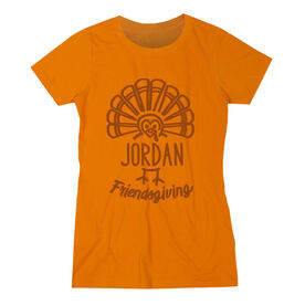 Women's Everyday Tee - Friendsgiving Turkey
