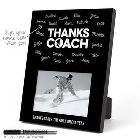 Snowboarding Photo Frame - Coach (Autograph)