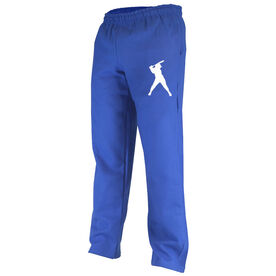 Softball Fleece Sweatpants Softball Silhouette