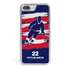 Hockey iPhone® Case - Personalized Hockey Patriot