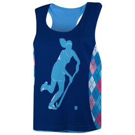 Field Hockey Racerback Pinnie - Argyle