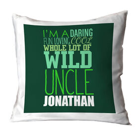 Personalized Throw Pillow - That's My Uncle