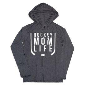 Women's Hockey Lightweight Hoodie - Hockey Mom Life
