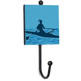 Crew Medal Hook - Female Rower