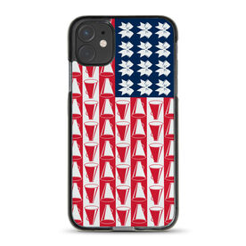 Cheerleading iPhone® Case - Cheer for America