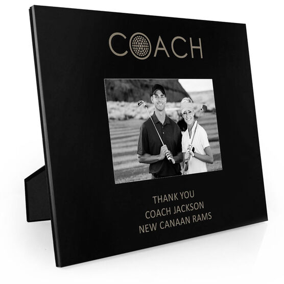 Golf Engraved Picture Frame - Coach