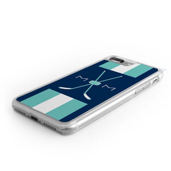 Hockey iPhone® Case - Mom With Crossed Sticks