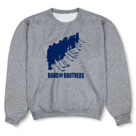 Hockey Crew Neck Sweatshirt - Hockey Band of Brothers