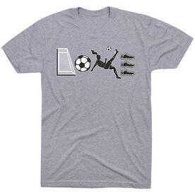 Soccer Short Sleeve T-Shirt - Soccer Love