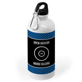 Wrestling 20 oz. Stainless Steel Water Bottle - Team with Ring