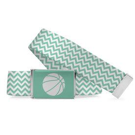 Basketball Lifestyle Belt Chevron Basketball