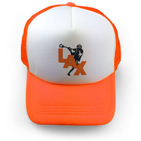 Guys Lacrosse Trucker Hat Lax Overhand Rip