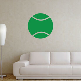 Tennis Ball Removable ChalkTalkGraphix Wall Decal