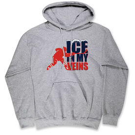 Hockey Standard Sweatshirt - Ice In My Veins