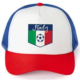 Soccer Trucker Hat - Italy