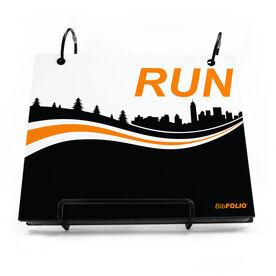 BibFOLIO® Race Bib Album - Run Cityscape