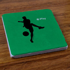 iPlay Soccer (Male) - Stone Coaster