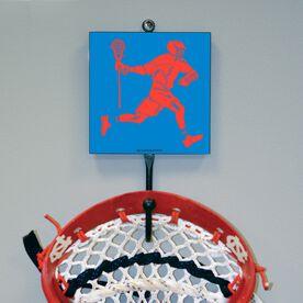 Guys Lacrosse Hook - Neon Player