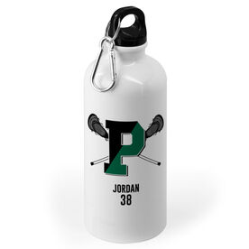 20 oz. Stainless Steel Water Bottle - Pentucket Youth Lacrosse Logo Name Number