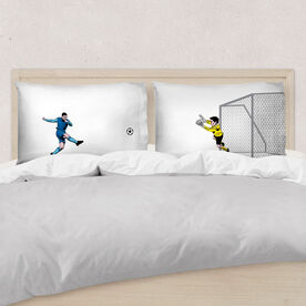Soccer Pillowcase Set - Go For The Goal