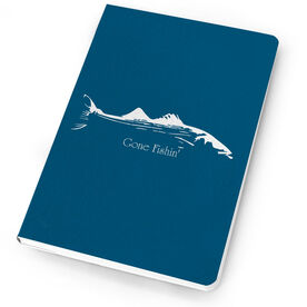 Fly Fishing Notebook Striper Silhouette