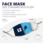 Hockey Face Mask - Personalized Player Number