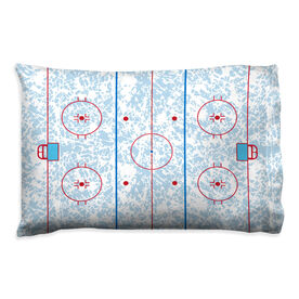 Hockey Pillowcase - Rink