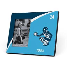 Softball Photo Frame - Personalized Softball Catcher