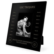 Wrestling Engraved Picture Frame - Team Name With Roster