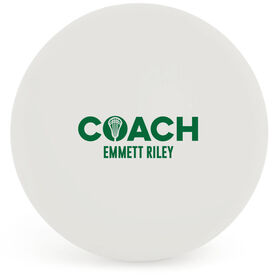 Guys Lacrosse Ball - Coach (Bold)