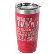 Basketball 20 oz. Double Insulated Tumbler - Dear Dad