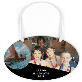 Swimming Oval Sign - Team and Player Photo