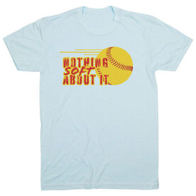 Softball Short Sleeve T-Shirt - Nothing Soft About It