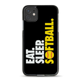 Softball iPhone® Case - Eat. Sleep. Softball.