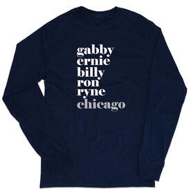 Baseball Tshirt Long Sleeve - FANtastic Chicago