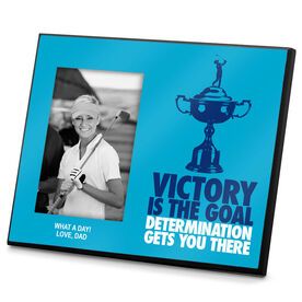 Golf Photo Frame Victory is the Goal Female