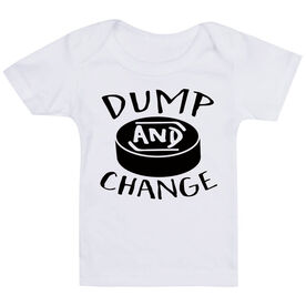 Hockey Baby T-Shirt - Dump and Change