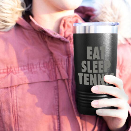 Tennis 20 oz. Double Insulated Tumbler - Eat Sleep Tennis