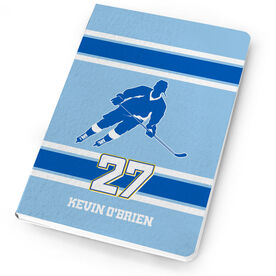 Hockey Notebook Personalized Hockey Rink Turn