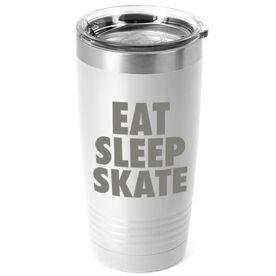 Figure Skating 20 oz. Double Insulated Tumbler - Eat Sleep Skate